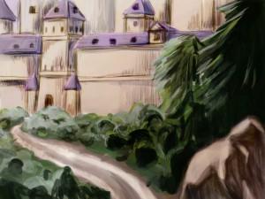 ワンドロミア城